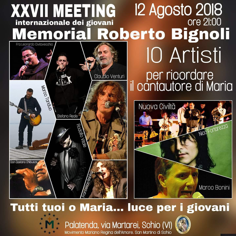12 agosto 2018 - Memorial Roberto Bignoli